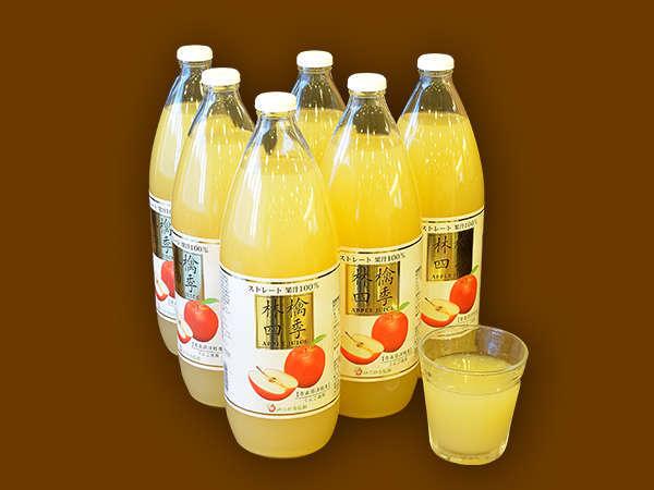 ◆朝食 青森県産100%りんごジュース(イメージ)