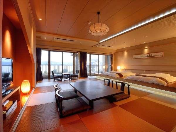 【源泉かけ流しの宿 湖泉荘】6階建て17室のくつろぎお宿。貴重な源泉かけ流し。館内ゆったり