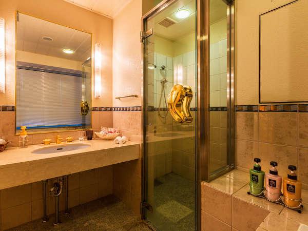 *DXダブルルームの洗面台☆随所に光るデザイン性の高さが◎