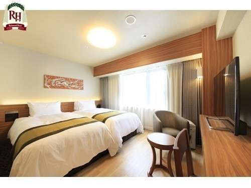 ツインルーム 23㎡ ベッド幅110㎝/    シングルベッド2台【浴室・洗面・トイレ分離型】
