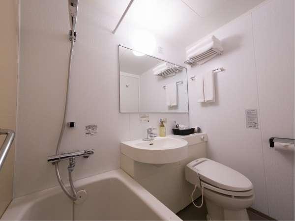 統一されたアメニティと全室ウォシュレットトイレ。清潔を保っています。
