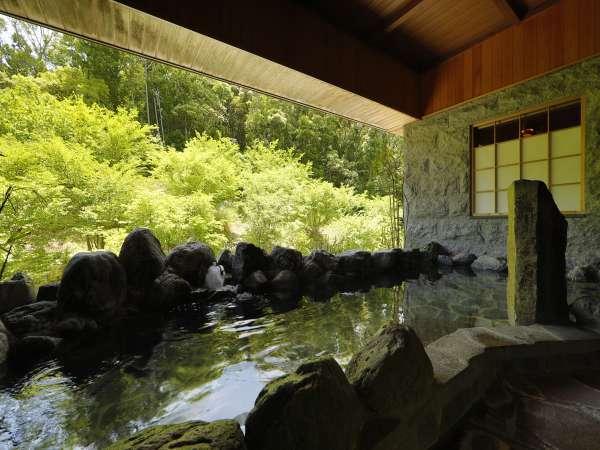 大浴場 森の湯の露天風呂