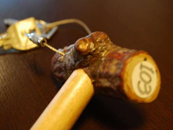 【カギ】手作りのキーホルダー