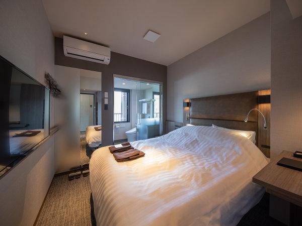 スマートダブルルーム(ベッド幅160cm、部屋の広さ14㎡)