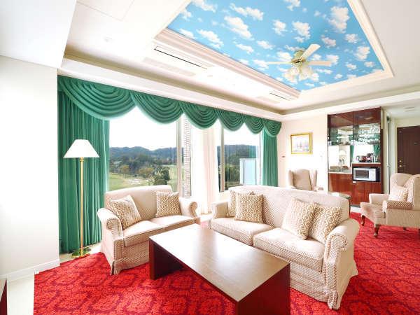 【レジデンス新館 Aタイプ】114㎡の広々とした客室でワンランク上のリゾートステイをご満喫頂けます。