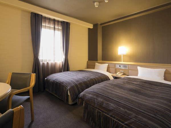 ◆ツインルーム◆17平米・ベッド幅110cm