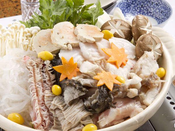 *【アンコウ鍋】大洗の冬の味覚です。コラーゲンたっぷりのアンコウ鍋は絶品。