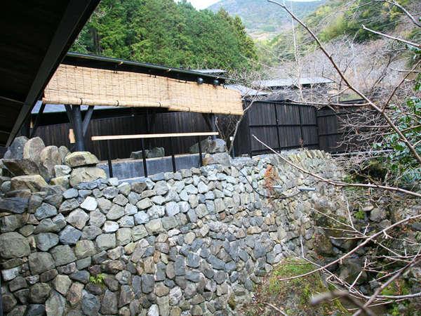 当館のお湯は、四国随一の湯量と優れた泉質が自慢。