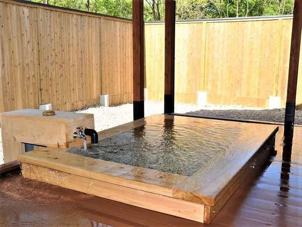 <新館の露天風呂>一例