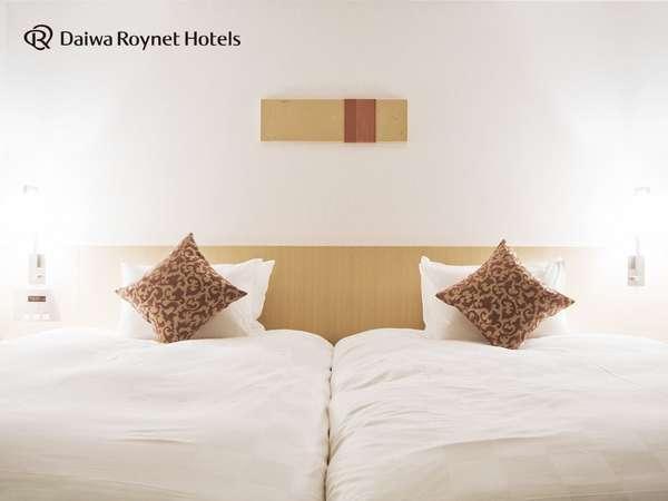 ◆客室ツインルーム、28.6平米の広々とした客室で旅行にも最適です♪