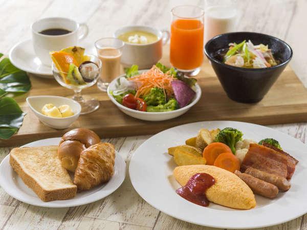 洋朝食セット(イメージ)朝食ビュッフェ休止日のご提供メニューでございます。