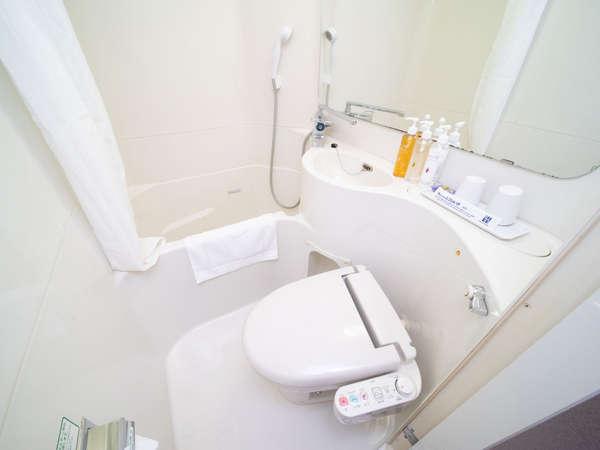 お部屋の水道水は全て健康イオン水です♪サーモ式だから温度調整もラクラク