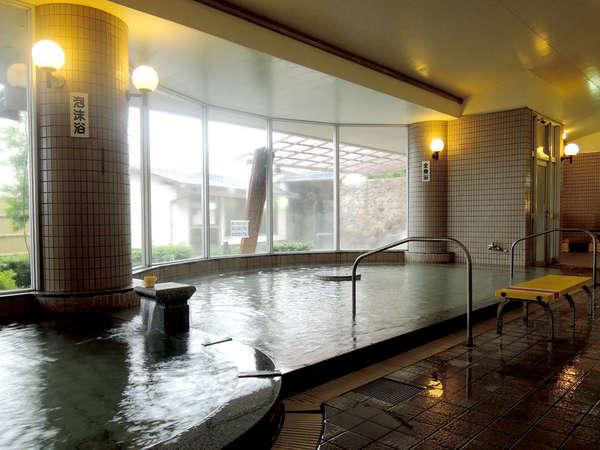 *【大浴場】トロッとした肌触りのお湯で、湯上りのお肌はすべすべ!美肌の湯として人気です♪