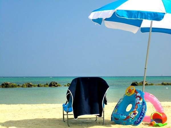 お子様のビーチデビューにおすすめ:波が穏やかで遠浅のビーチ