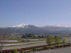阿蘇五岳を望む客室からの眺望