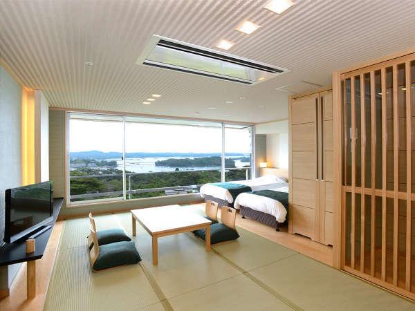 イーストウィング海側 和洋室(1-4F)【禁煙】