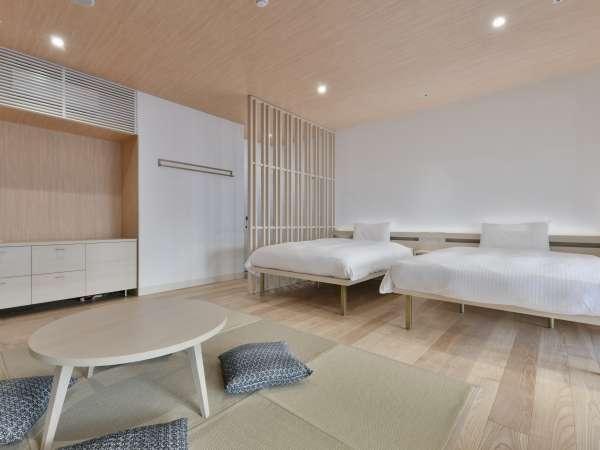 プレミアムルームでは和の趣の客室でゆったりできます♪