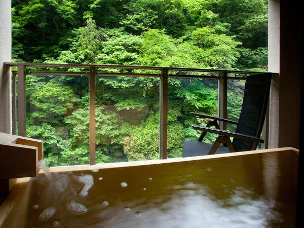 *2012年7月オープン♪スイートルーム はなれ「松島閣」光の間の露天風呂イメージ♪