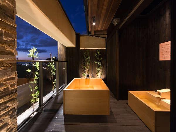*スイートルーム はなれ「松島閣」月の間露天風呂のイメージ♪
