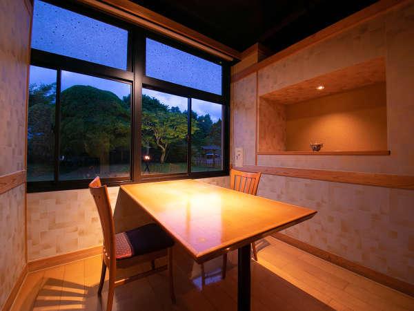 ■木綿郷(ゆふのさと)■個室での食事はこちらでご用意。プライベートな空間でお楽しみください