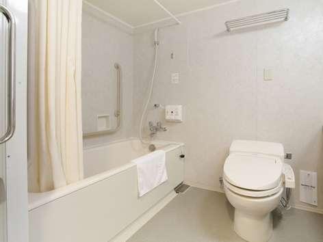 全室ウォシュレット完備☆ツインルームはお風呂も広々とご利用頂けます♪