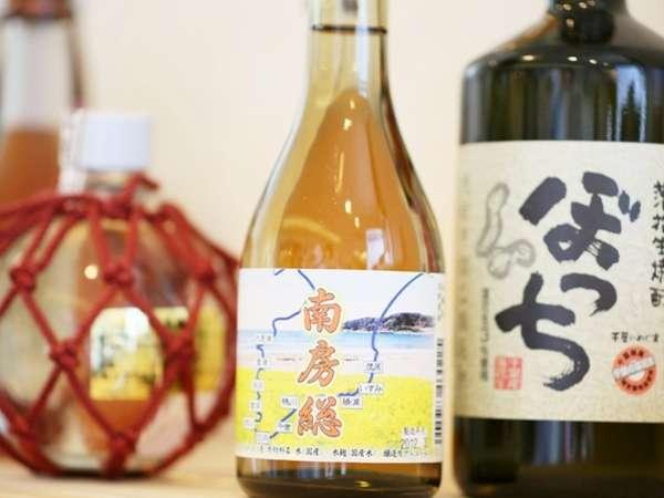 千葉の地酒はフロントでもご購入いただけます