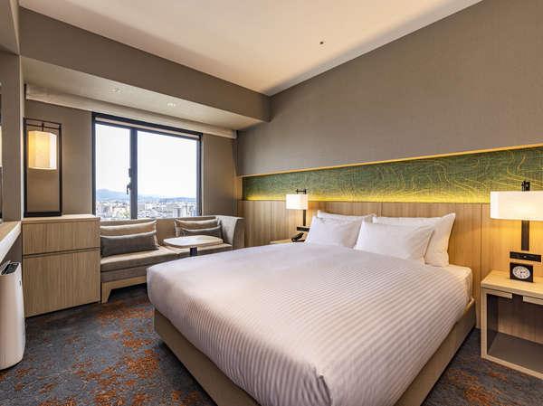 スーペリアダブル(シャワーブースのみ)ビジネスから観光まで幅広くご利用いただける客室。