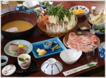 みそ鍋プラン※写真はお刺身付コース(通常プラン料金に1000円プラスになります)