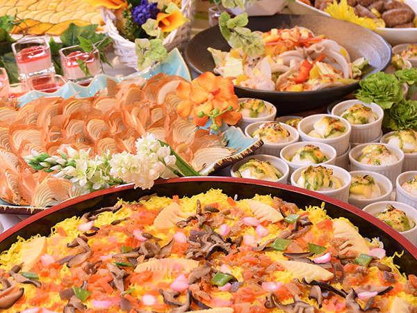 北海道の味覚をたっぷり堪能できる和洋ビュッフェ