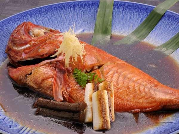 特別料理・金目鯛姿煮