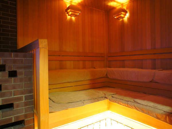 ☆男性大浴場☆サウナ室