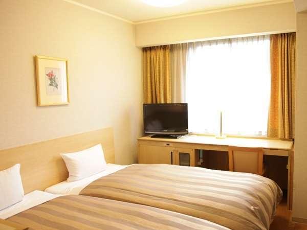 ハリウッドツイン(16.5㎡) ベッド100cm幅、2台
