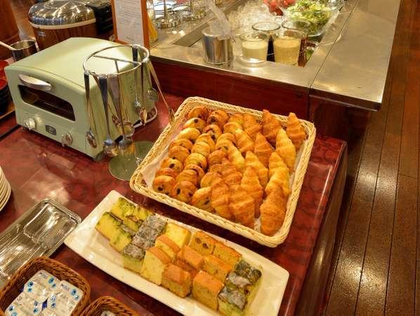<朝食バイキング>お子様や女性に嬉しいホテル手作りパウンドケーキ♪