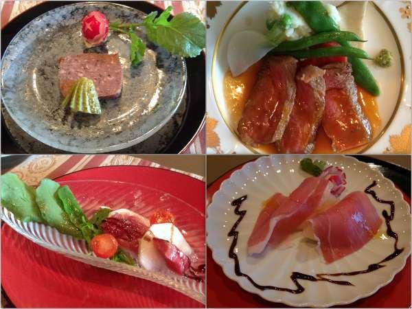 ある日の京フランス膳