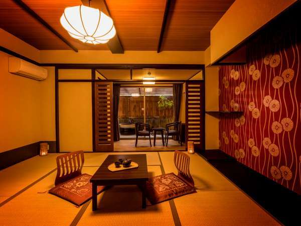 露天風呂付和室 ※客室の一例