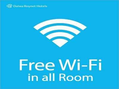 ロビーでもWi-Fiをご利用頂けます。