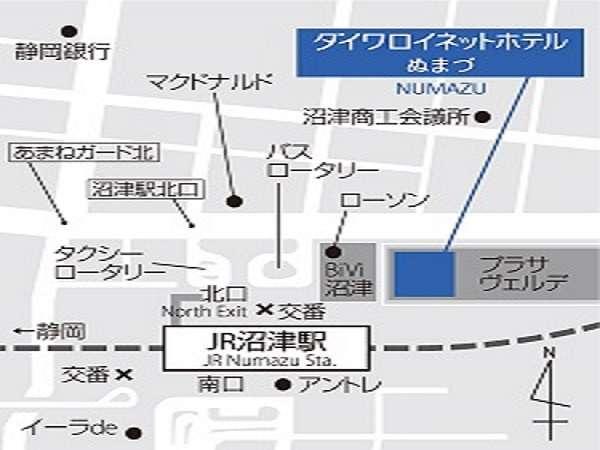 ■沼津駅からホテルまでの案内■