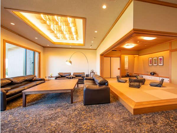 約112畳 道内最大級の広さを誇る和洋室で過ごす、ハイクラスでプレミアムなひとときを堪能【6名定員】