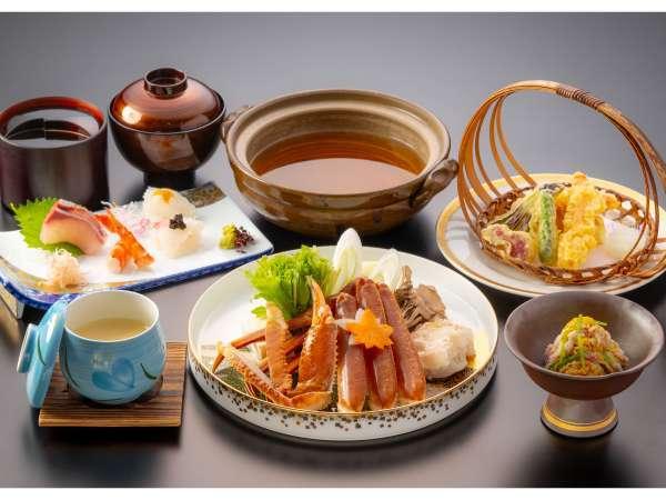 【かに鍋御膳】蟹取県に来たら☆お得においしく、カニを召し上がれ♪