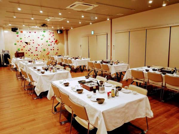 宴会やイベント開催もできる会議室(要予約)