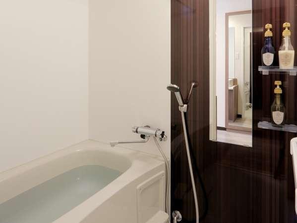 なんとトイレが別設計なんです!!全室ゆとりのひと時バスルームを