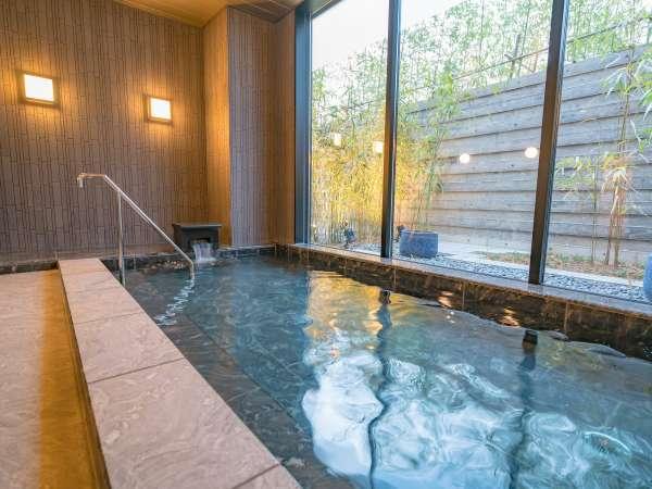 【たびのホテル佐渡 大浴場】大浴場には佐渡近海の海洋深層水を使いミネラルが豊富です♪