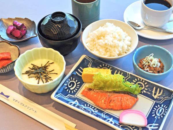 【朝食】和定食メニュー