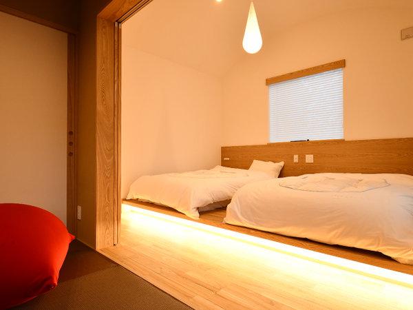 令和二年冬完成の離れ露天風呂客室/洋室