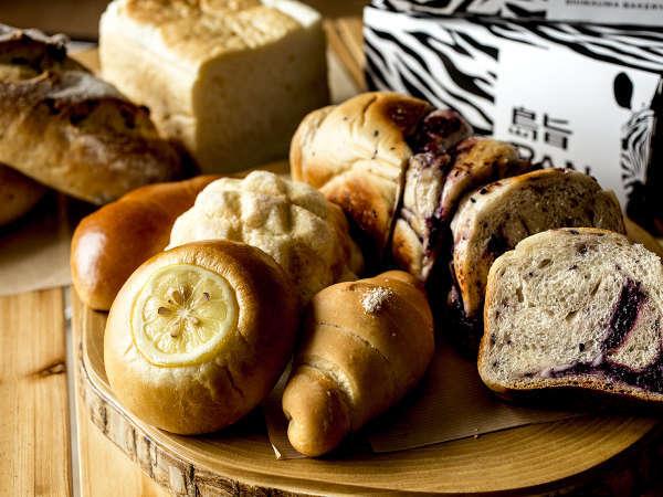 「宮島でしか味わえないパンを食べていただきたい」という想いから誕生したオリジナルのパンメニュー