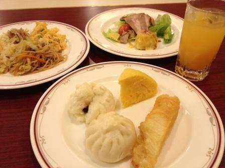 朝食バイキング(中華のみ)
