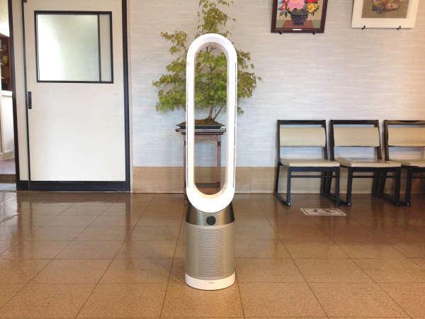 ★NEW★各フロアに空気清浄除菌装置を新たに設置しました!