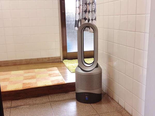 ★NEW★浴室脱衣所にも空気清浄除菌装置を新たに設置しました!