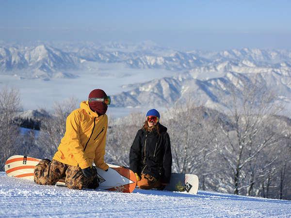スキージャム勝山は西日本最大級のスノーリゾート