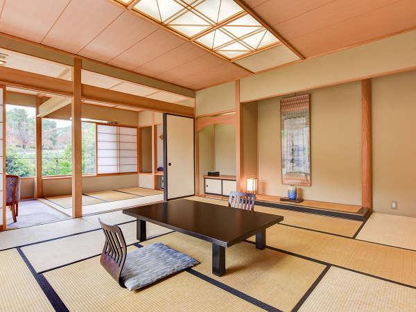 *【客室一例】和室12畳/大きな窓からの抜けのよい眺望が魅力で解放感◎
